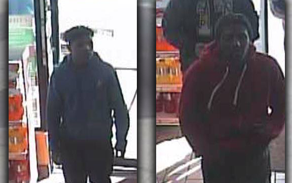 Police trying to identify these two men who were seen with a homicide victim shortly before his death