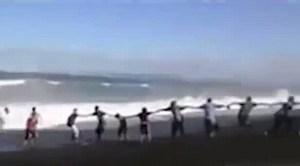 human-chain