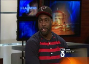 Exonerated Football Star, Brian Banks, Talks About Signing With Falcons
