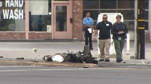 motocyclist crash