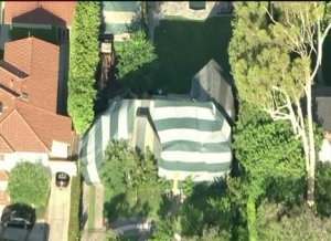 Burglars Target Tented Home in Beverly Hills