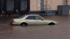 Flooding, Car, Weather, Rain,