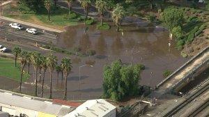 flooding Riverside