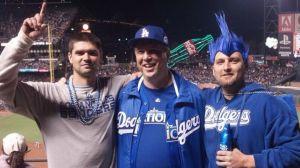 Jonathan Denver Dodgers Giants stabbing game family Matt Gomes
