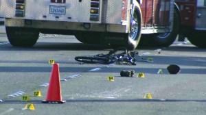Anaheim Hit and Run Bicyclist
