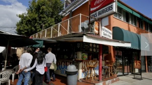 Irv's Burgers Irv West Hollywood Los Angeles Times One Time Use Link Off