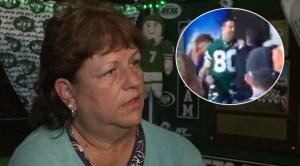 Jets Fan WPIX Fight Patriots