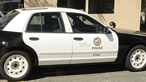 filephoto Los Angeles Police Department Patrol Car
