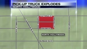north-hollywood-truck-explosion-map