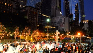 pershing square ice rink holiday