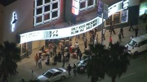 Man Falls Hollywood Palladium
