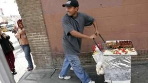 Street Vendor Los Angeles LA Times Link Off One Time Use