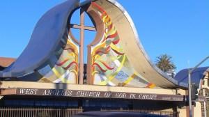 stabbing church god christ security guard
