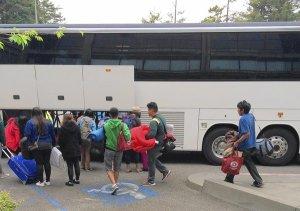 Humboldt State University tour ends