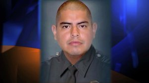 LAPD Officer Roberto Sanchez was killed in a collision in Harbor City on May 3, 2014. (Credit: Los Angeles Police Department)