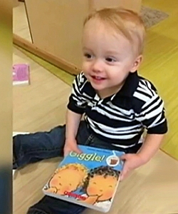 Cooper, 22-months-old, died in a hot SUV after spending 7 hours strapped in his car seat. (Credit: WSB-TV.com)