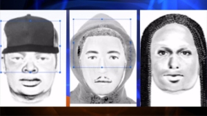 Police were searching for two men and a woman who allegedly stole a car at gunpoint at  a Northridge college campus on July 11, 2014. (Credit: CSUN police)