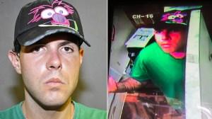 Daniel Warn was suspected in a string of burglaries in the Costa Mesa area. (Credit: Costa Mesa Police Department)