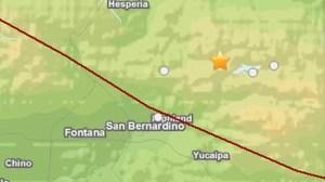 A 4.6-magnitude earthquake struck near Big Bear Lake on July 5, 2014. (Credit: USGS)