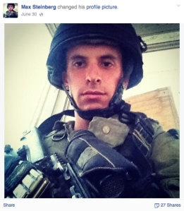 Max Steinberg is seen in a photo from his Facebook page.