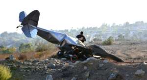 Investigators were trying to determine what caused a plane to crash near a Rancho Cucamonga neighborhood on July 18, 2014. (Credit: Rick McClure)