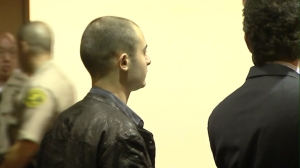 Arman Samsonian, 21, was sentenced to three years probation on July 16, 2014, after a car crash that led to the death of two good Samaritans. (Credit: KTLA)