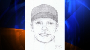 Police released this sketch of a man wanted in the July 3 robbery of an iPhone that left a 15-year-old girl dead. (Credit: Santa Ana PD)