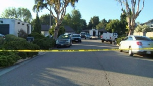 One person was in custody after four people and a dog were found dead with multiple stab wounds in a home in the Santa Barbara area. (Credit: KEYT)