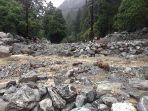 forest falls flash flood