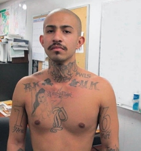 Cedric Ramirez, 24, was a parolee at large, wanted for two felony warrants. (Credit: Los Angeles County Sheriff's Department)