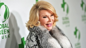 Comedian Joan Rivers attends Global Green USA's 11th Annual Pre-Oscar party at Avalon on February 26, 2014 in Hollywood, California. (Credit: Alberto E. Rodriguez/Getty Images for GLOBAL GREEN USA)