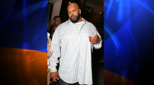 Music producer Suge Knight, seen in this file photo, was among three people who were shot at a West Hollywood nightclub on Aug. 24, 2014. (Credit: Alberto E. Rodriguez/Getty Images for LMVH)