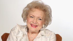 Actress Betty White speaks onstage during the Informal Session: Betty White's Off Their Rockers' panel during the NBCUniversal portion of the 2012 Winter TCA Tour at The Langham Huntington Hotel and Spa on January 6, 2012 in Pasadena, California. (Credit: Frederick M. Brown/Getty Images)