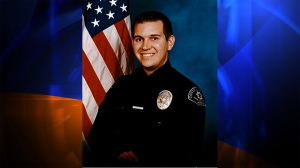 Covina police Officer Jordan Corder is shown in a photo posted to the city's website. He died Sept. 30, 2014.