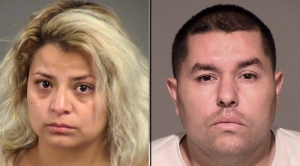 Sandy Cuevas, 29, and husband Marco Cuevas, 31. (Credit: Ventura County Sheriff's Department)
