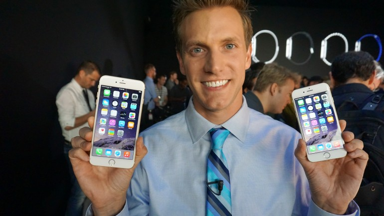 rich demuro iphone 6 launch