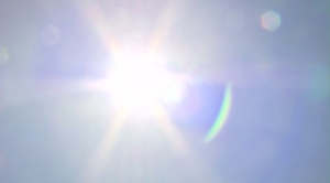 An excessive heat warning was in effect in L.A. and Ventura Counties on Sunday, Sept. 14, 2014. (Credit: KTLA)