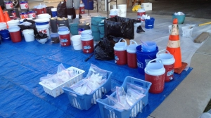 Seven people were arrested on Sept. 25, 2014, after investigators found the makings for crystal meth and nearly $1 million worth of marijuana at two Riverside homes. (U.S. Immigration and Customs Enforcement)