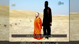 Islamic State released video on Tuesday, September 2, 2014, claiming to have executed U.S. journalist Steven Sotloff. (Credit: CNN)