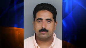 Hilario Homberto Urena, 40, of Tracy, was arrested in connection with a fatal crash in Ontario on Sept. 11, 2014. (Credit: San Bernardino County Sheriff's Department)