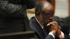 Democratic state Sen. Roderick D. Wright in court on Sept. 3, when he was granted a final delay before he was sentenced Friday to 90 days in jail and banned for life from public office. (Bob Chamberlin/Los Angeles Times)