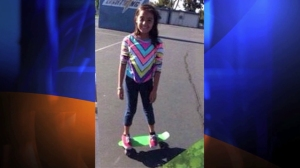 A family friend provided this photo of Ximena Meza, 9, who was shot and killed while playing in her Anaheim home's front yard on Oct. 22, 2014.