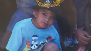 Rafael Ramirez's family left this photo of the 10-year-old boy at a memorial in Anaheim. He was killed in a suspected DUI crash Oct. 18, 2014.