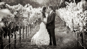 Brittany Maynard is seen with her husband in a wedding photo. (Courtesy: Brittany Maynard)