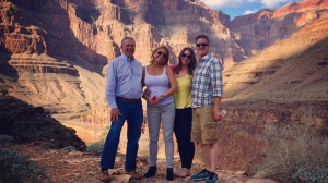 Brittany Maynard fulfilled a bucket list item when she visited the Grand Canyon the week of Oct. 20, 2014. (Credit: Brittany Maynard)