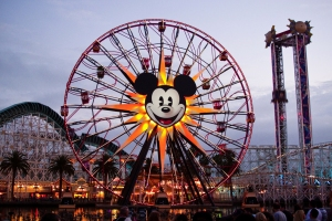 Mickey's Fun Wheel is shown in July 2010. (Credit: HarshLight/flickr via Creative Commons)