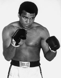 A portrait of then World boxing heavyweight champion Muhammad Ali in 1960 in Paris, France. (Credit: Getty Images)