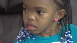 Rochelle Ketchum pulled her 4-year-old daughter Amiah out of Kinder World preschool after she says staff left the girl alone in a smokey classroom on Oct. 13, 2014. (Credit: Fox 40)