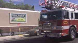 Controversy erupted when staff at Kinder World preschool in Sacramento allegedly left a 4-year-old in a smokey classroom on Oct. 13, 2014. (Credit: Fox 40)