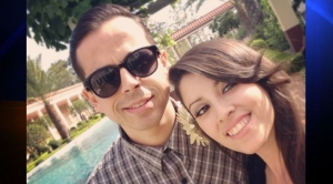 Shaun Eagleson, 30, died Sunday after he was allegedly struck by a drunk driver, leaving behind his wife, Sandra Eagleson, 31. (Photo via gofundme.com)